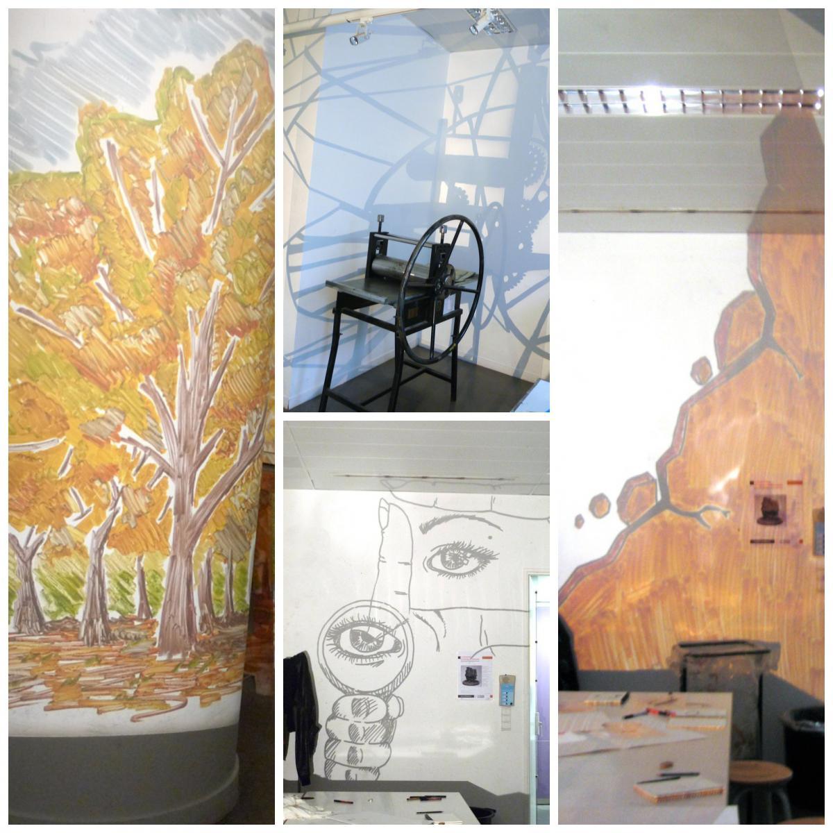 auberfabrik Fabrication collective d'un jardin de papier