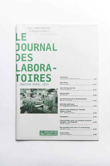 Le Journal des Laboratoires, janvier 2011