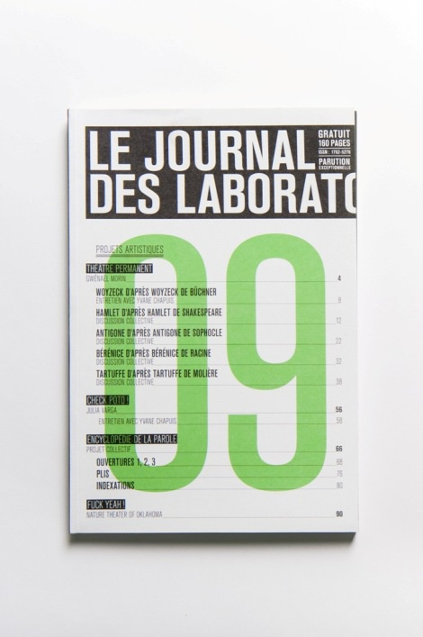 Le Journal des Laboratoires 2009