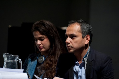 Stephanie Noach et Guillaume Désanges ©Ouidade Soussi Chiadmi 9/17