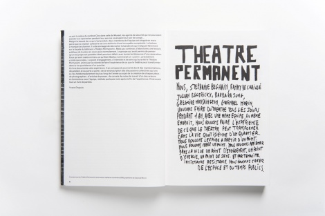 Théâtre permanent - 2/9 - Photo Ouidade Soussi Chiadmi