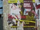 Paris, 2010. Affiche décoloniale vs. affiche antifa