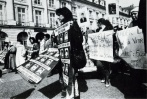 Paris, 21 mars 1984. Ronde des «Folles de la place Vendôme»