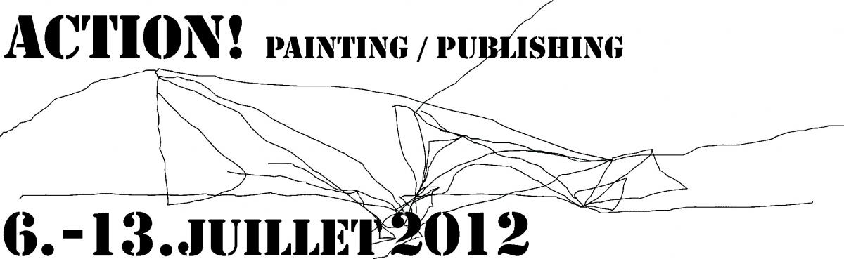 Colloque Action! Painting/Publishing!