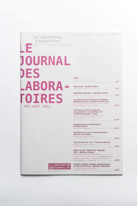 Le Journal des Laboratoires, mai 2011
