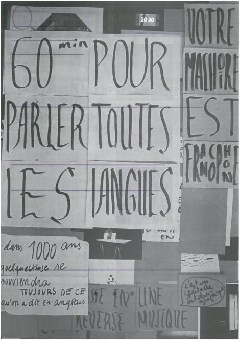 Manifestes imprimés - 9/9  - verso