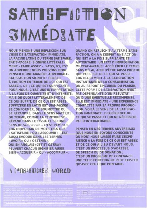Manifestes imprimés - 1/9  - recto