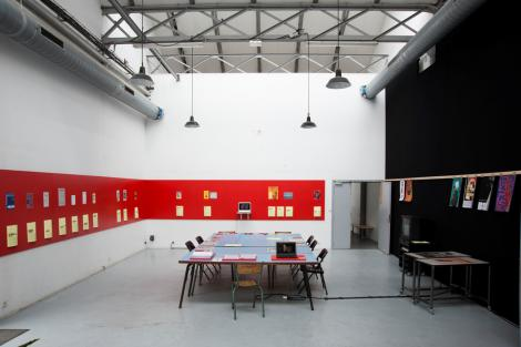 "Research Room ""Action! Painting! Publishing!"", 6-27 juillet 2012, 1/9"