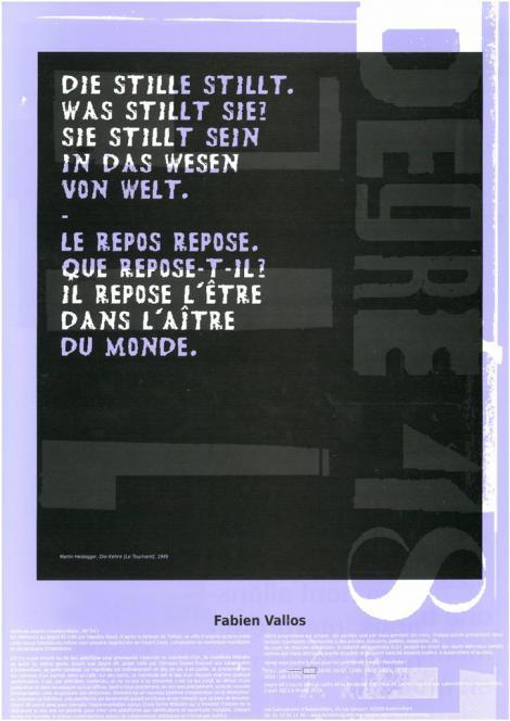 Manifestes imprimés - 2/9  - recto