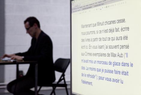Manifeste #4: Antoine Dufeu et Patrick Corillon - Photo: Léa Neuville - 4/8