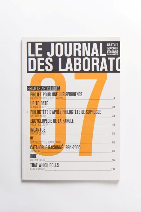 Le Journal des Laboratoires 2007