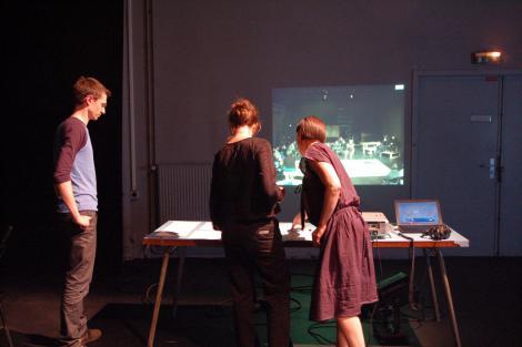 Ma première fois avec un dramaturge #2 avec Cédric Schönwald, 1er mars 2010 6/10